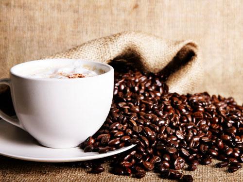 Дерево из кофейных зерен своими руками