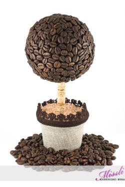 Как сделать кофейное дерево своими руками с