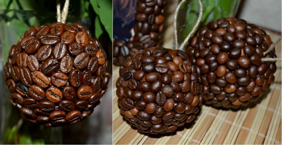 Кофейный шар своими руками мастер класс